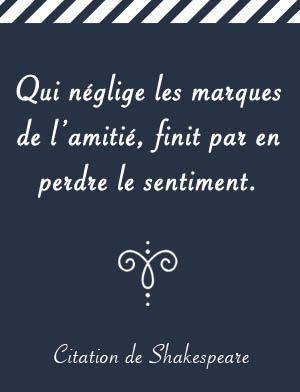 Citation De William Shakespeare Bff