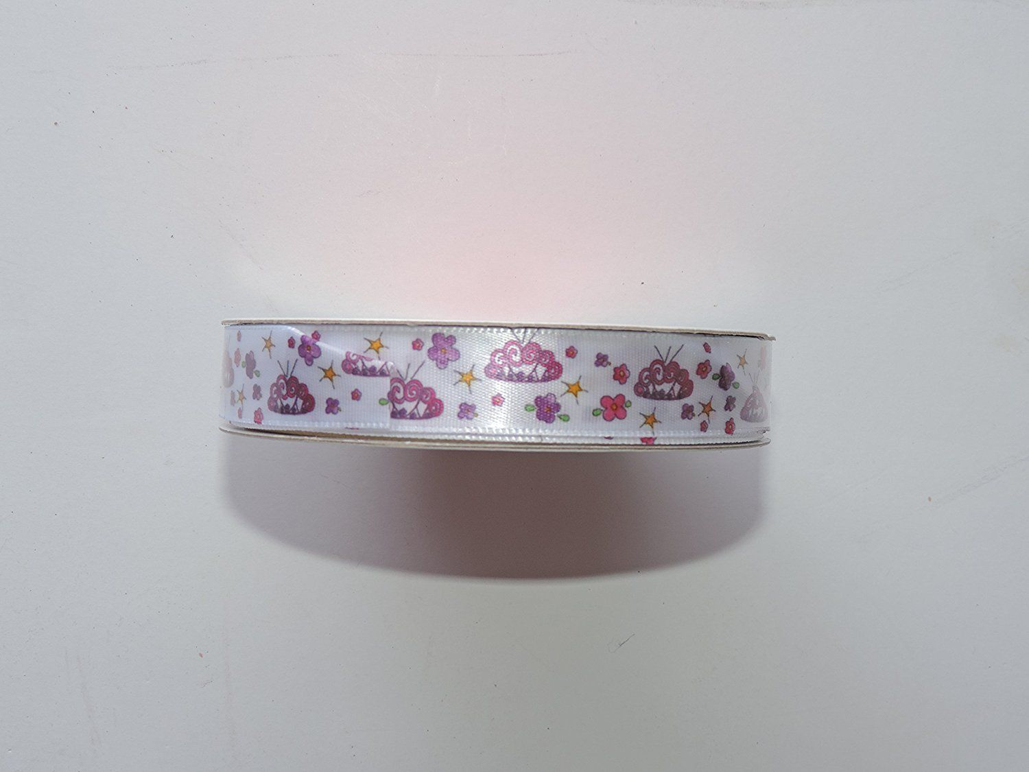 CraftSmart 100% Polyester 5/8 in. x 9ft. Decorative Tiara Ribbon - Great for Any Occasion! *** You can find more details by visiting the image link.