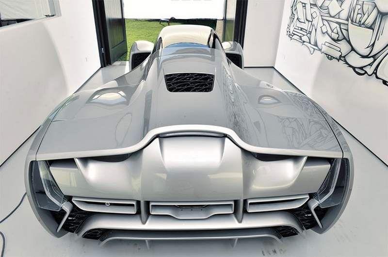 3D printed carbon fiber supercar  , - ,   Divergent Microf...