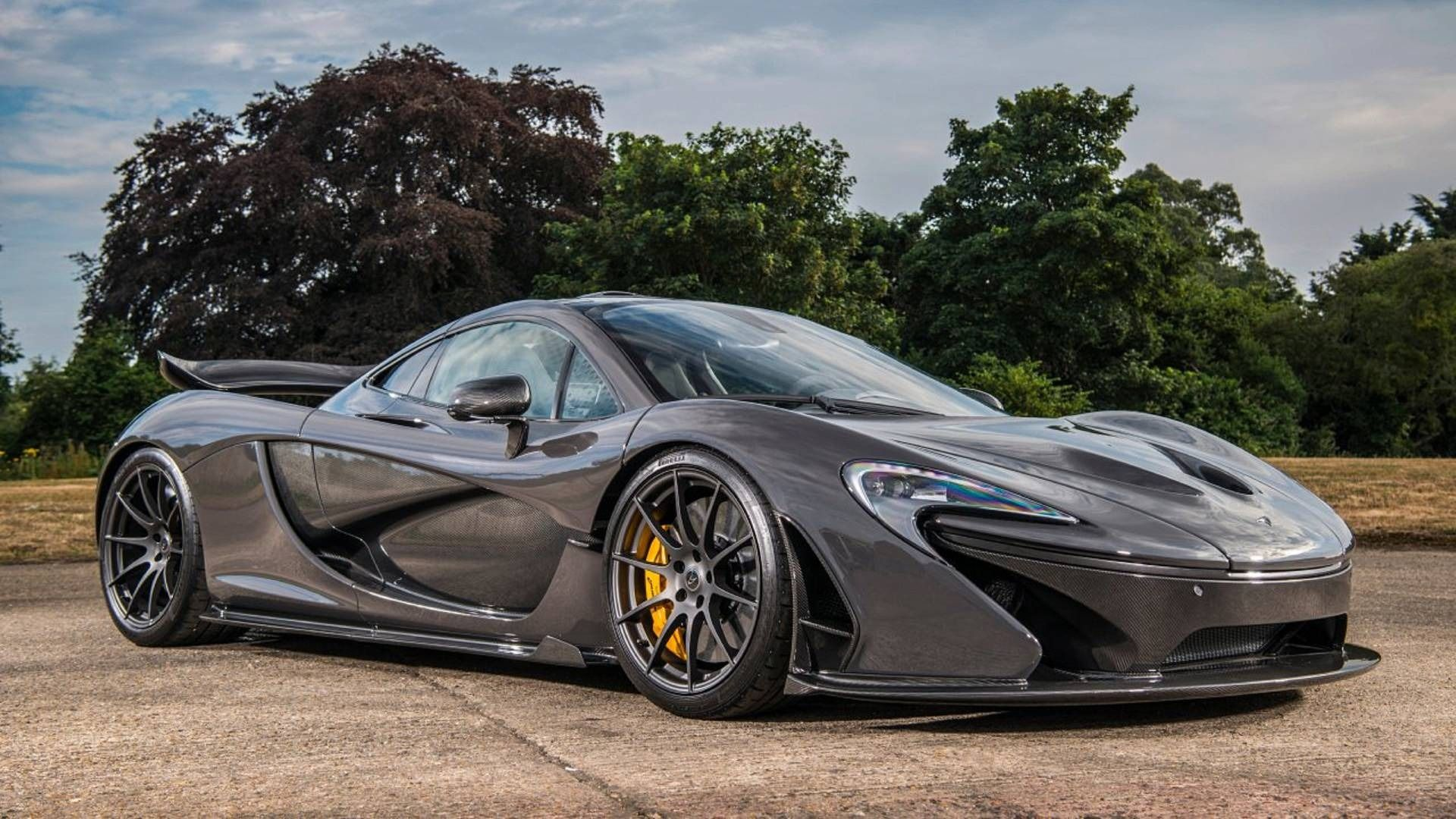 Jenson Button's McLaren P1 For Sale With Just 887 KM On The Clock
