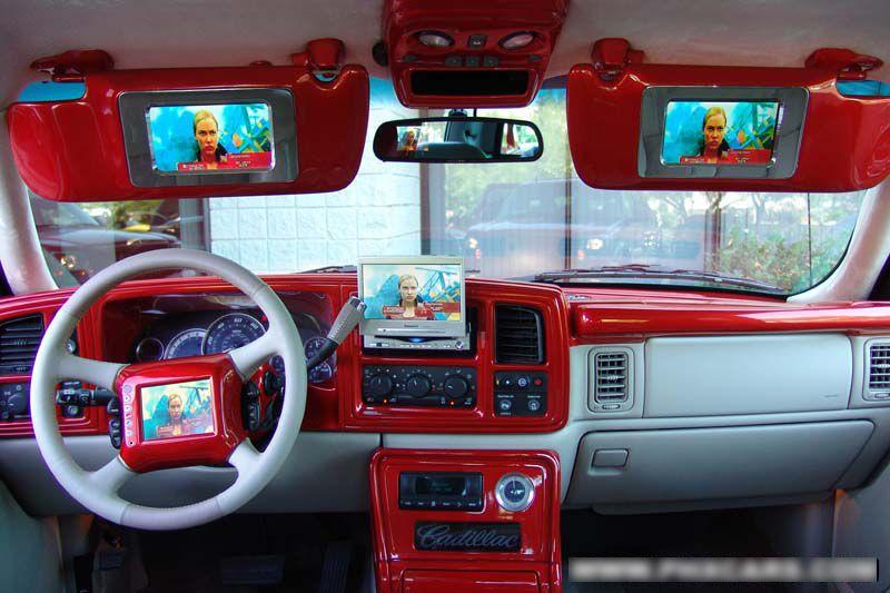 custom escalade interior   Silverado   2003 chevy silverado