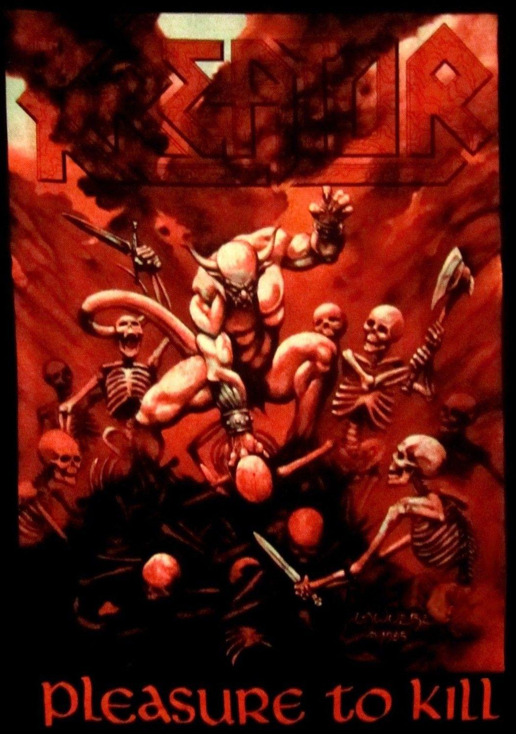 Pleasure To Kill Album Cover Kreator Thrash Metal