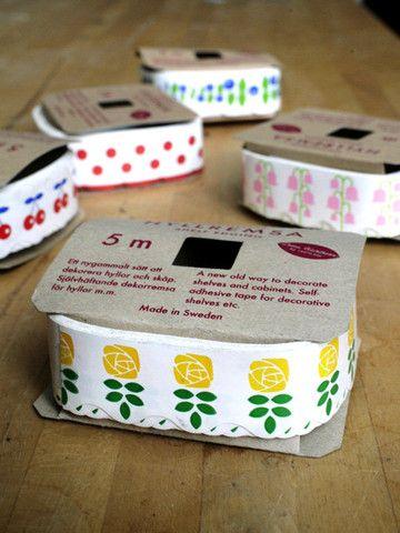 deco tape voor legplanken 'rose'
