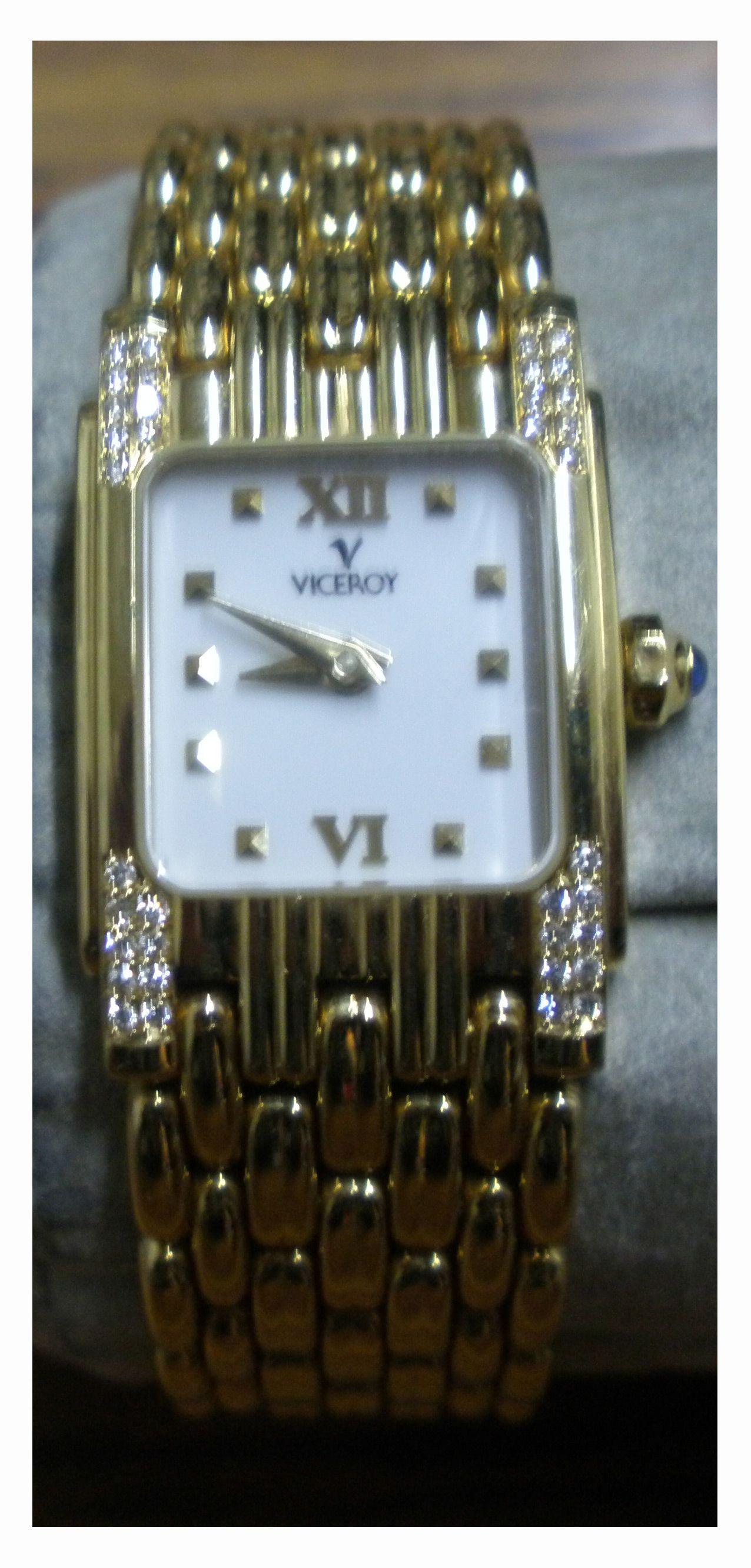 4771d840e98 Reloj Viceroy de Oro para Señora