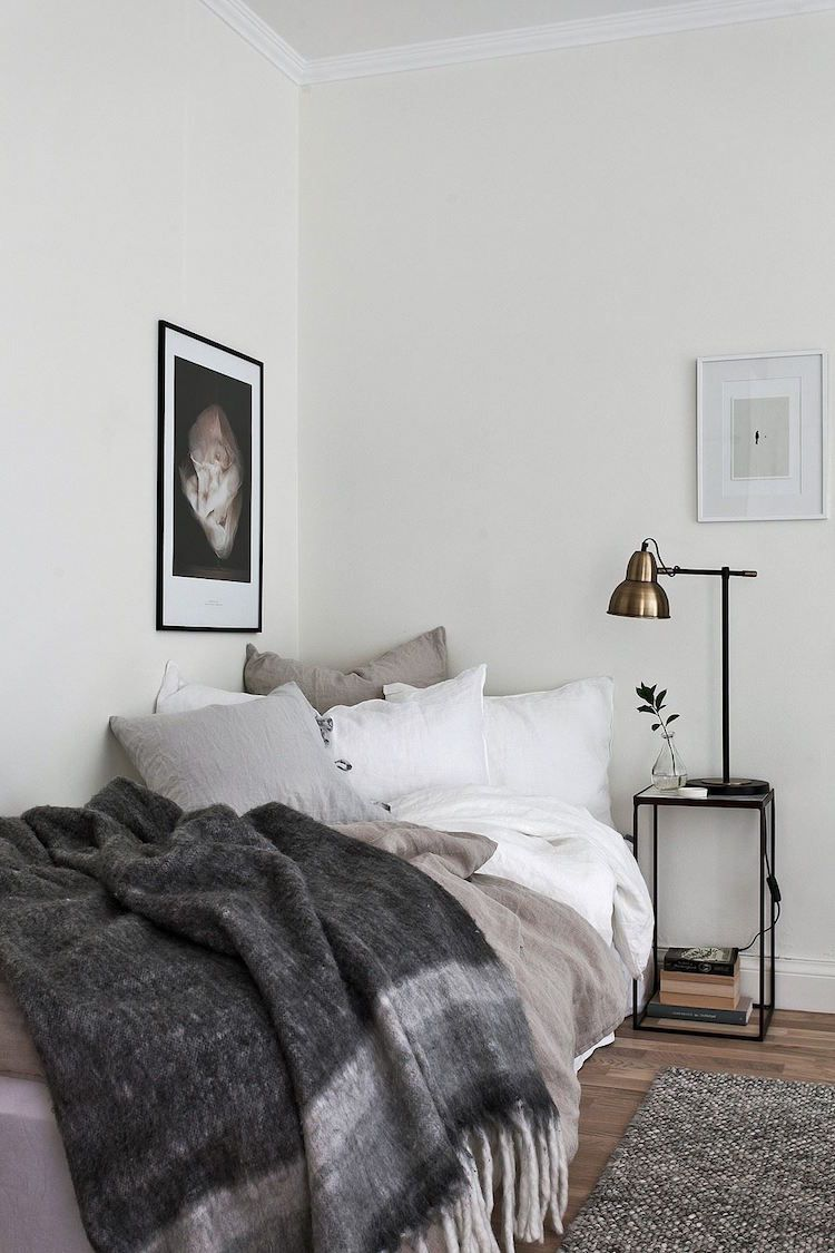 bw bedroom Hereu0027s How You Style a