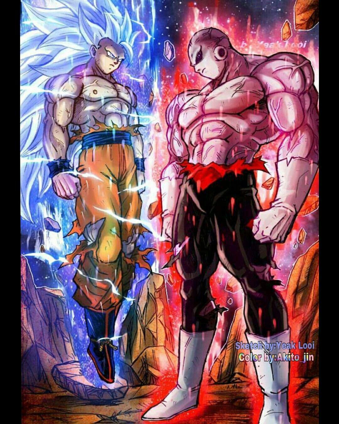 Ultra Instinct Dragon Ball Super Wallpaper: Pin By Malcolm DuBois On Dragonball