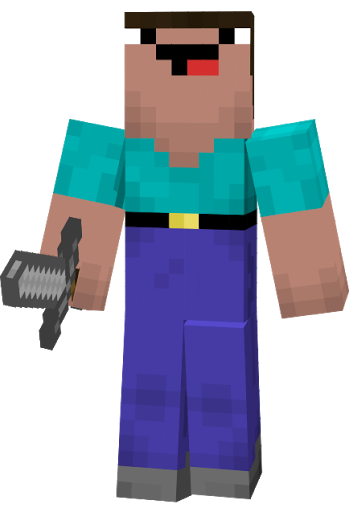 minecraft godzilla skin template