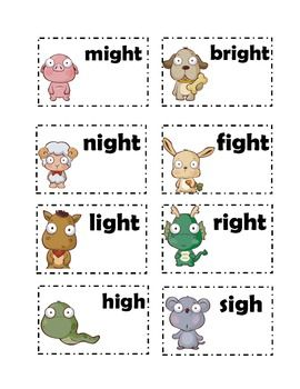 Worksheets Igh Words Phonics 17 best images about igh on pinterest activities literacy centers and words