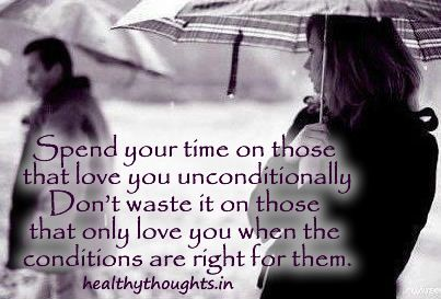 Love Care Quotes Food For Thought Unconditional Love Love
