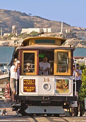 San Francisc - Powell Street Cable Car