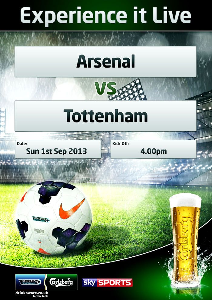 Joins us today for a Arsenal vs. Tottenham live at