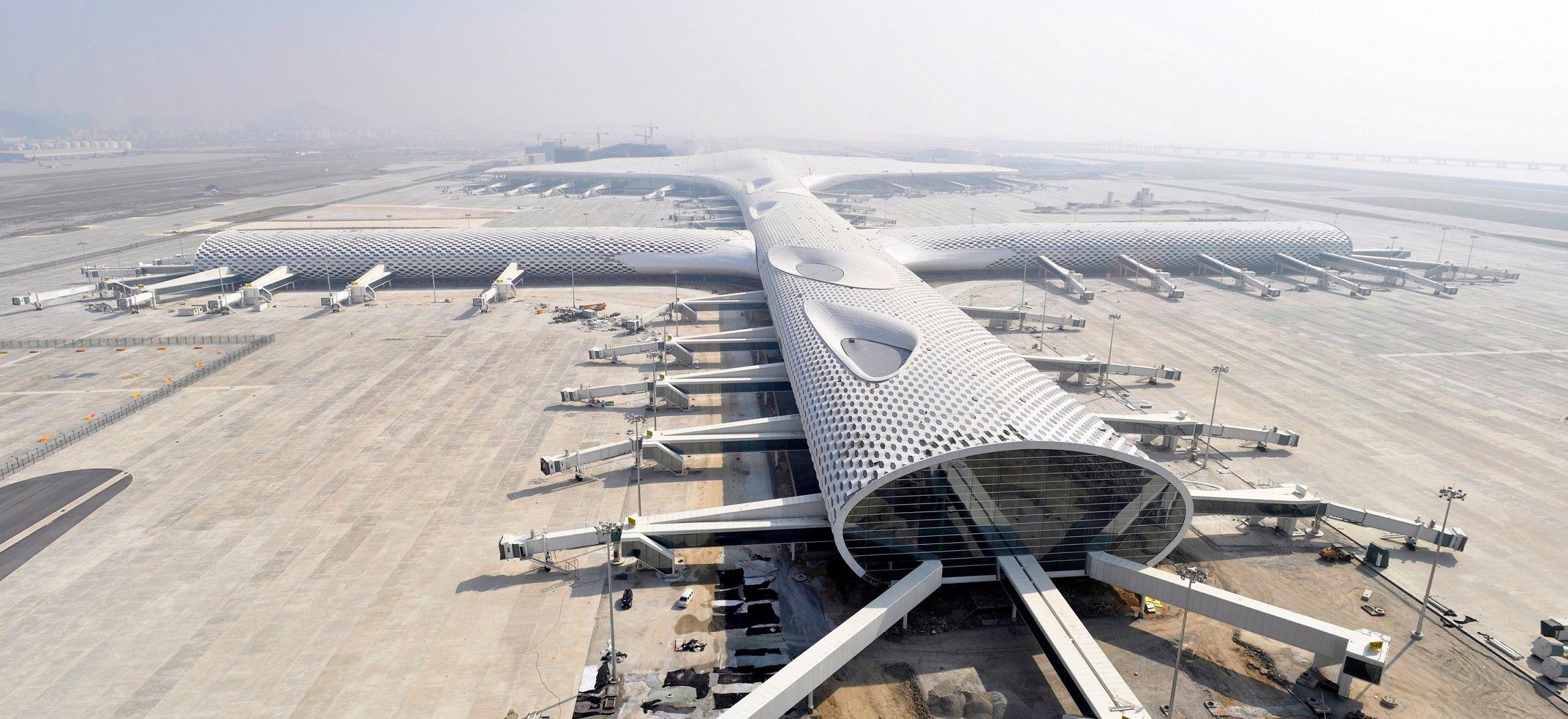 Terminal 3 at Shenzhen Bao'an International Airport / Studio Fuksas