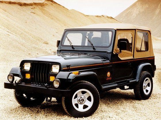 Jeep Wrangler Sahara 1995 1996