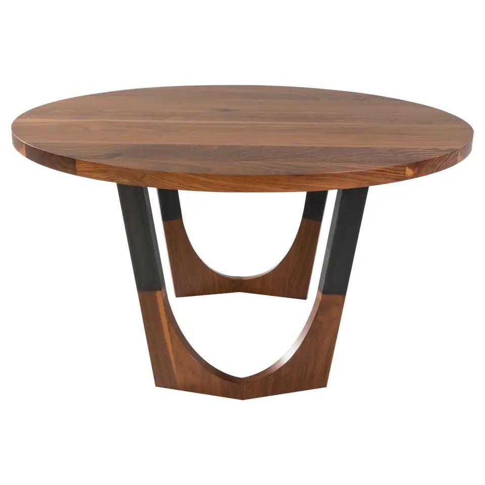 Circular Walnut Expanding Dining Table Concord Dining Table Expandable Dining Table Dining Table Walnut Dining Table