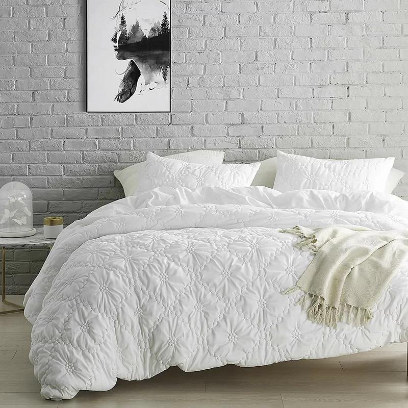 Bynum Farmhouse Duvet Cover Set in 2020 Duvet bedding