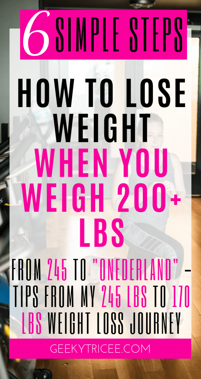 How to simply lose weight if you weigh 200 lbs or more – GeekyTricee #diet #healthy #healthyeating #...
