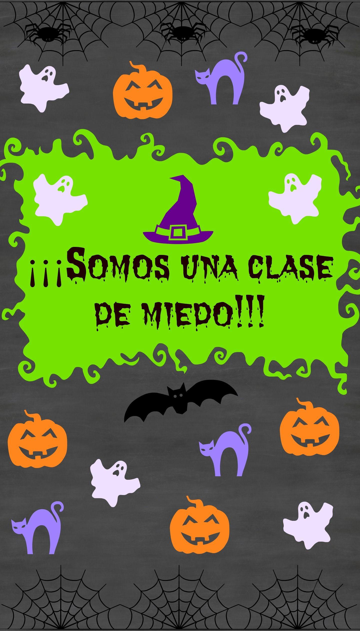 Póster para Halloween clasedeespañol Halloween