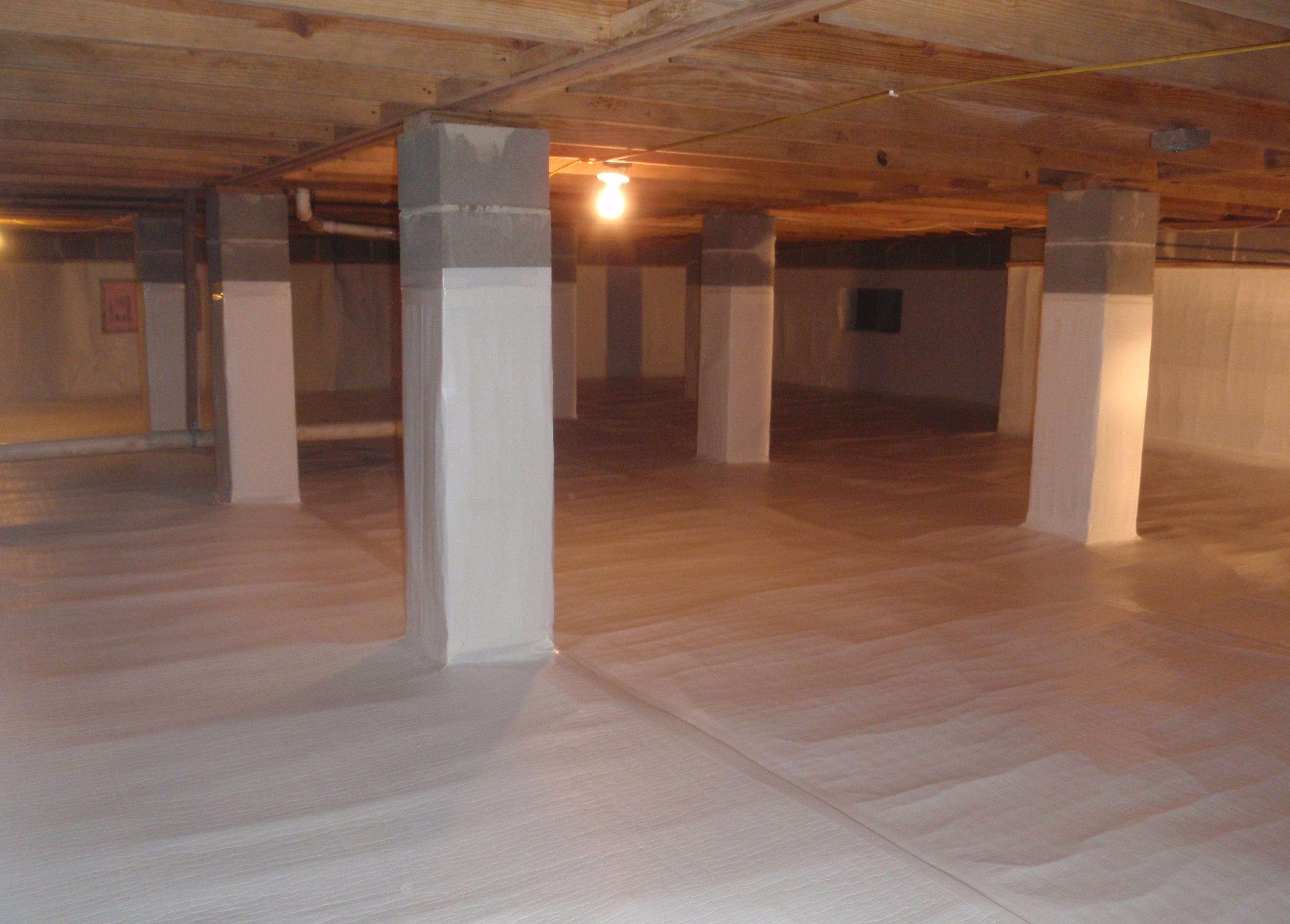 Building an Unvented Crawlspace Crawlspace, Crawl space