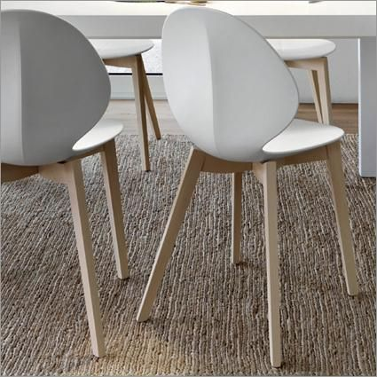 Calligaris tabourets CALLIGARIS BASIL Chaises Chaise et 3A5jRL4