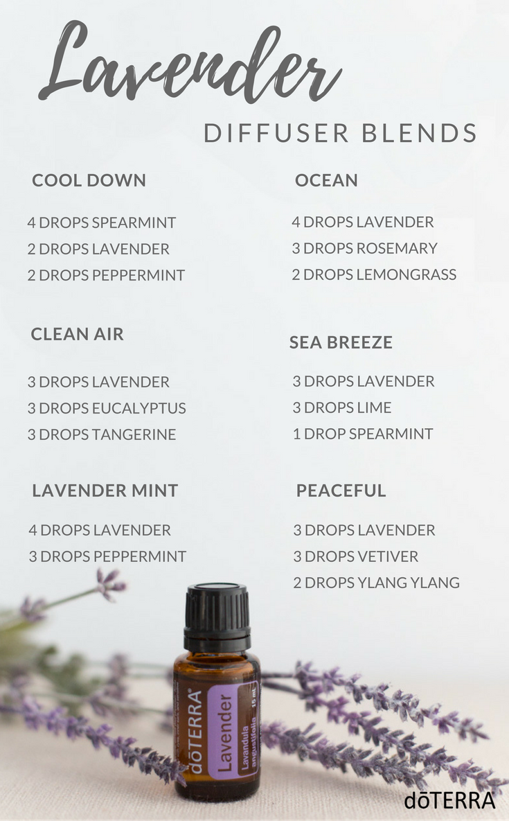 Lavender Diffuser Blends | Diffuser Blends | Essential oil diffuser