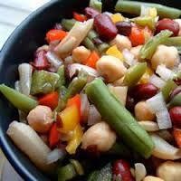 Resultado de imagen para recetas de ensaladas frias de legumbres