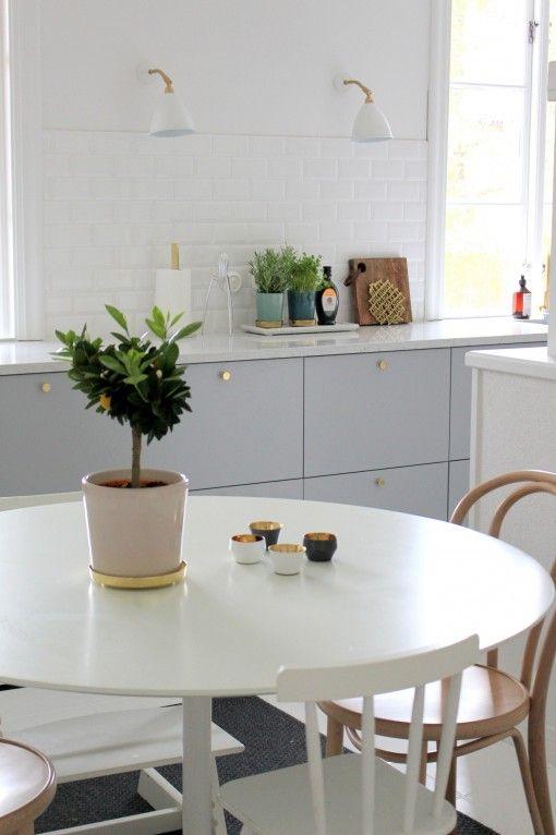 IKEA doors. Love the White countertop