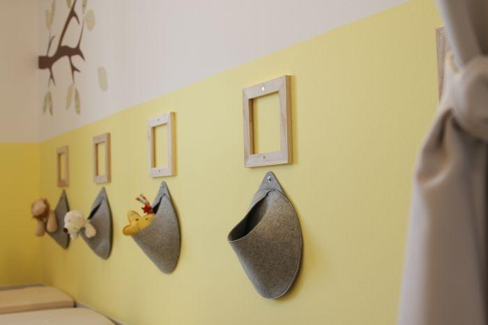 Schlafraum in kindergarten kinderzimmerei 2012 for Raumgestaltung in der krippe
