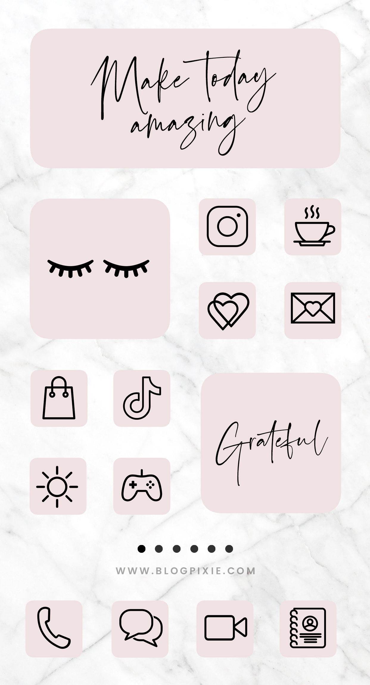 App Icons Ios 14 Pink Black Aesthetic Icon Pack App Covers Ios 14 Widgets Aesthetic Pink Iphone Home Screen Ios14 Blog Pixie App Icon Iphone Wallpaper App Homescreen