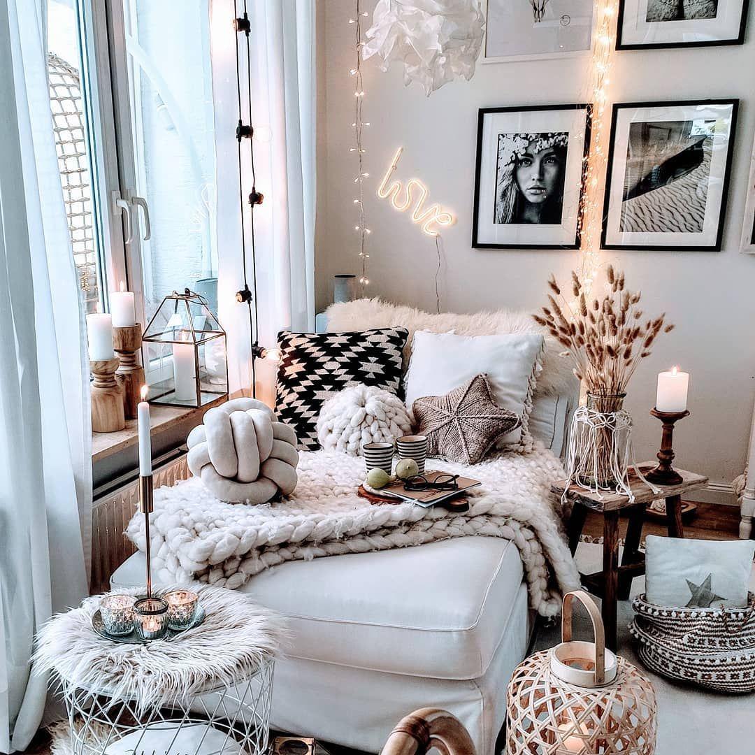 Idée de décoration intérieure scandinave et nordique Crédit