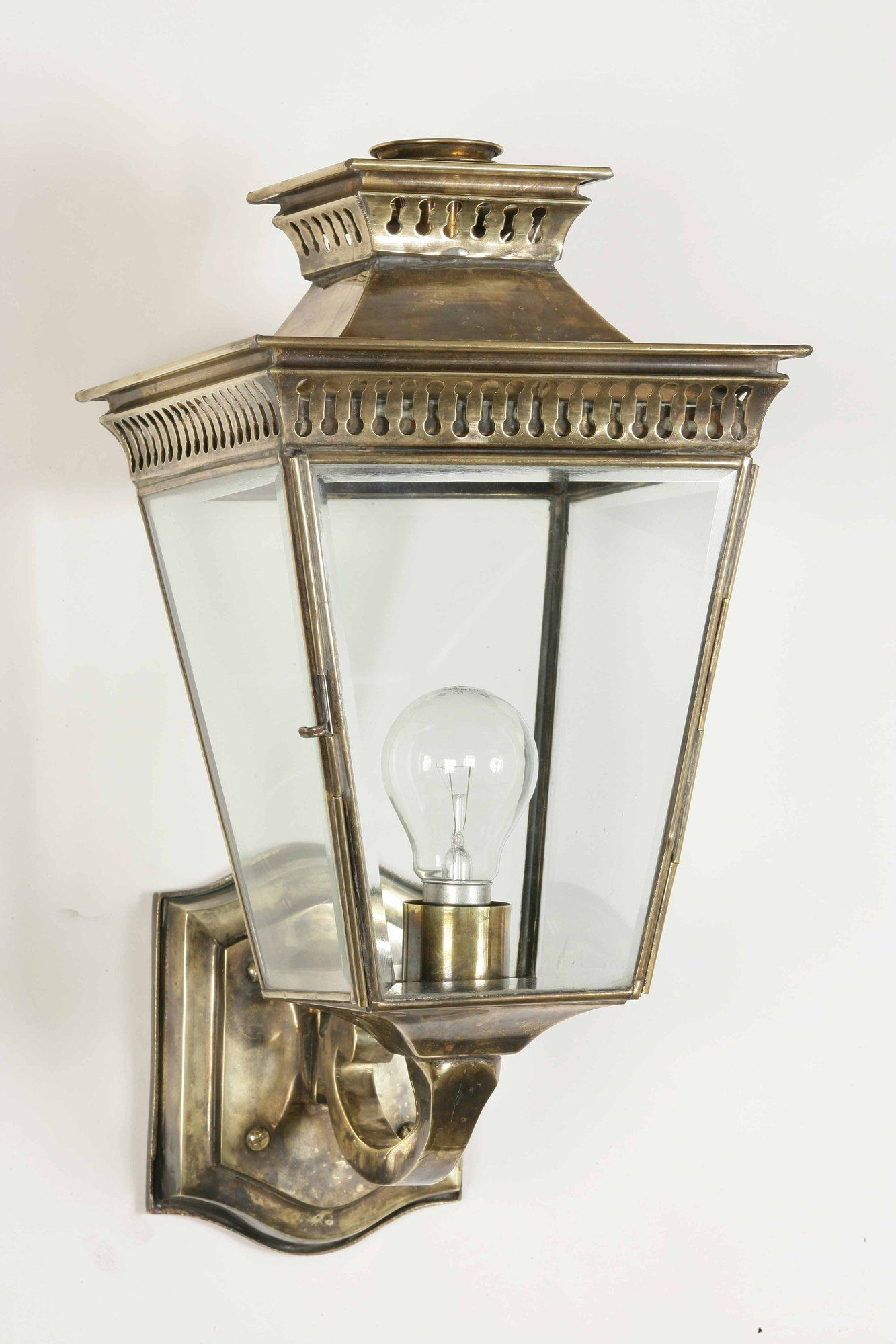 Image result for brass or antique brass outdoor wall lights solid brass pagoda outdoor wall lantern handmade exterior light in a choice of finishes mozeypictures Image collections