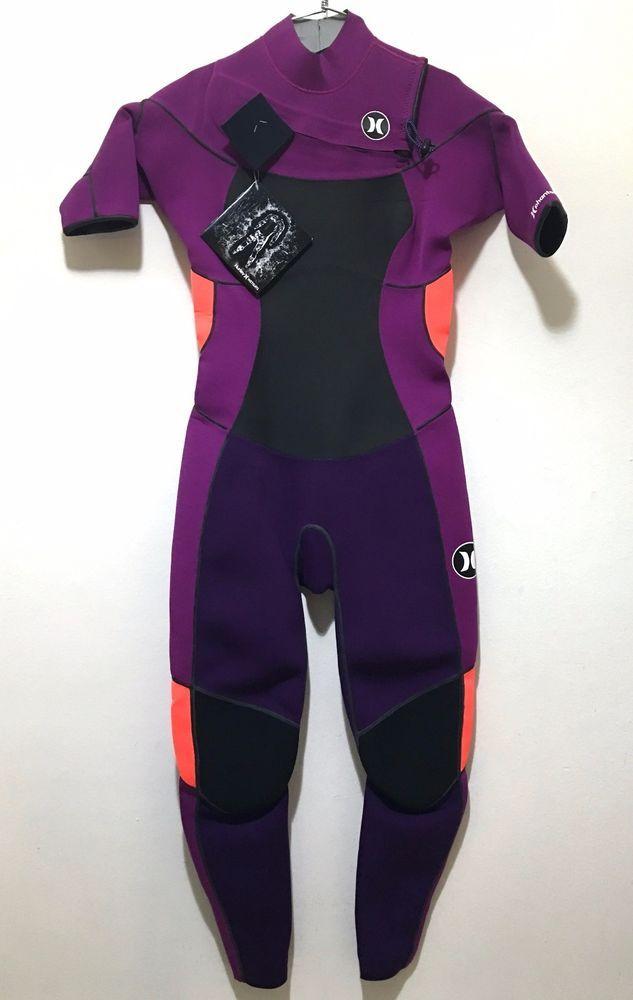 85e6a313c2 Hurley Womens Full Body Wetsuit Ladies Size 8 Phantom 2 2 NWT Purple  Hurley