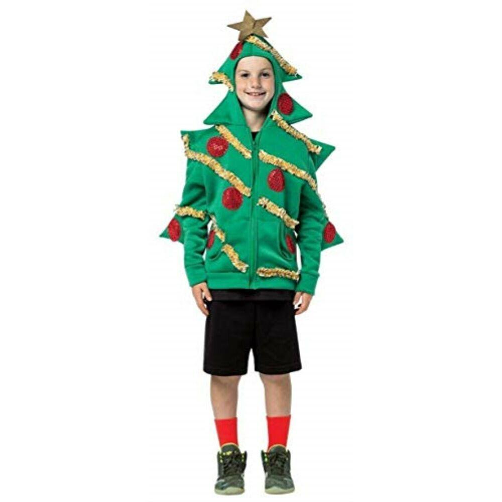Ebay Sponsored Rasta Imposta Christmas Tree Hoodie 4 6 Christmas Tree Costume Tree Costume Christmas Tree Hoodie