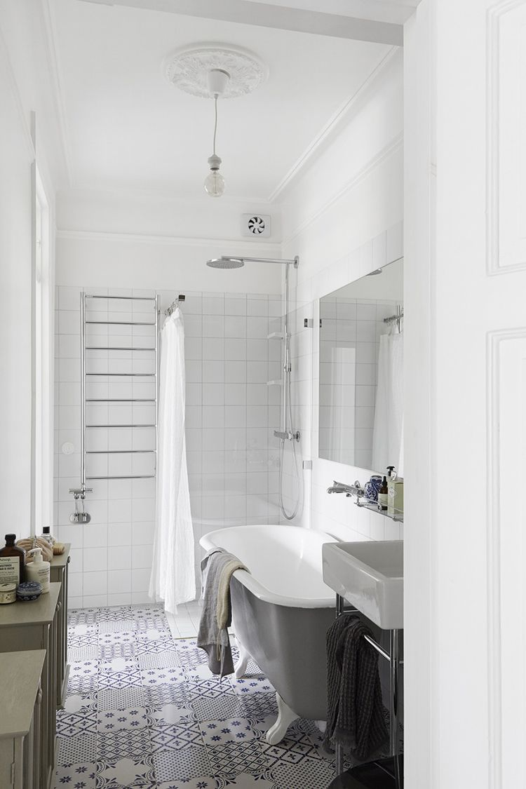 Get The Look Modern French Apartment French Bathroom Modern