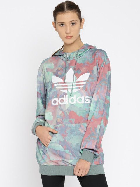 d1cb7f8fb206 Get in sync with spring Athleisure in this colourful hoodie from ...