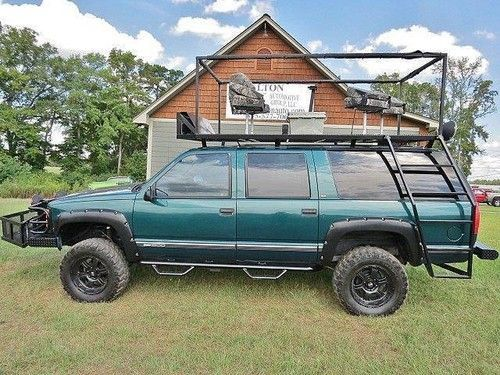 1997 Suburban K1500 4x4 Automatic Roof Rack Spotlights Ranch