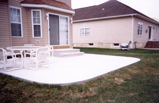Poured Concrete Patio Designs   Proper Construction For A ... on Poured Concrete Patio Ideas id=17712