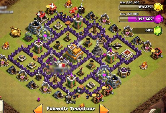 Base Coc Th 7 Terbaru 7