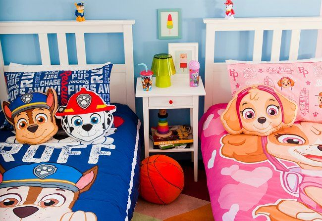 Decoraci n paw patrol low cost decorar la habitaci n de for Como decorar el cuarto de mi hija