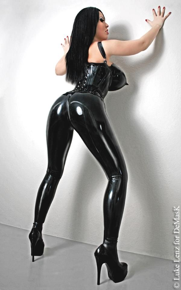 f013116fed6f4 Extreme booty fit high waisted legging in latex detail. This legging comes  withe a zipper in the mid back seam. This design is extreme booty fit.