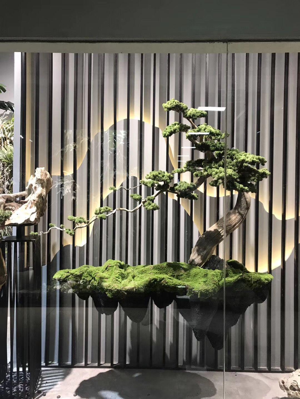 Pin by yujie hou on 花艺 Indoor zen garden, Interior