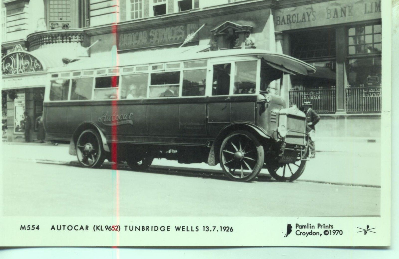 Picture Of A Albion Model 26 Single Decker With Solid Tyres Was