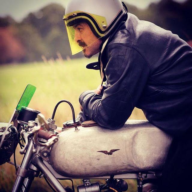 Denis Boussard  #motorcycles #caferacer #motos | caferacerpasion.com