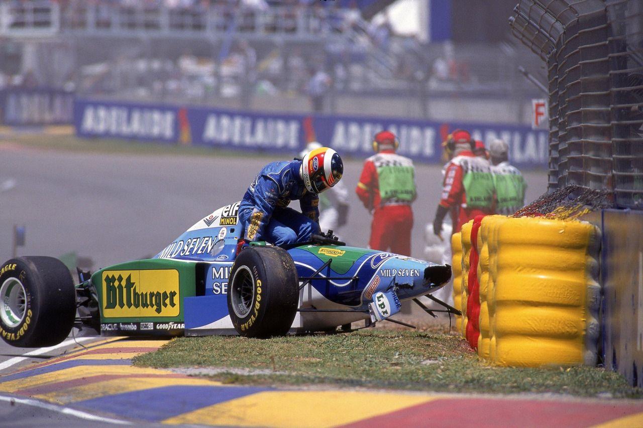 "itsawheelthing: "" Michael Schumacher, Mild Seven Benetton-Ford B194, 1994 Australian Grand Prix, Adelaide. """
