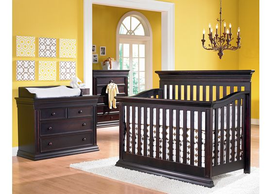 Possible Nursery Furniture...crib will have curve top.