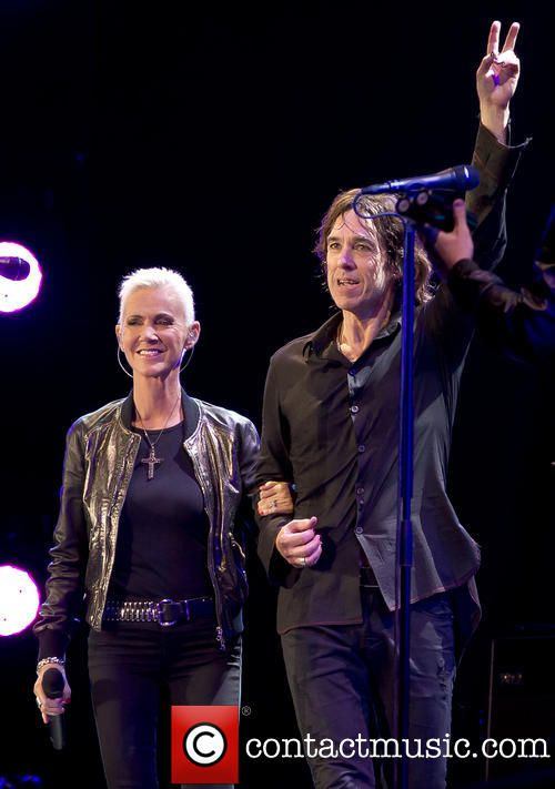 Photo of Per Gessle performs live with his band Golden Times