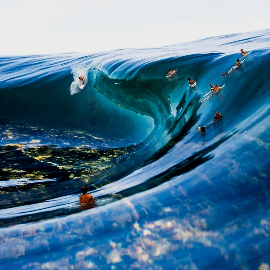 Tell Me The Take Pleasure In Of The Sea Beach Surf Get A Influx Barrel Huge Waves Surfers Existin Big Wave Surfing Surfing Waves Waves