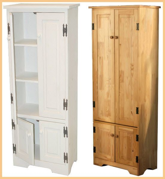 Tall Kitchen Storage Cabinets Cabinet Pictured With Doors