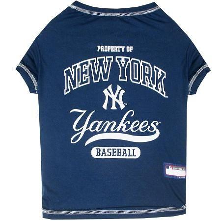 NEW NY NEW YORK YANKEES PET DOG BASEBALL JERSEY LARGE LICENSED