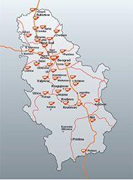 Maloprodajna mreža u Srbiji - MOL Srbija