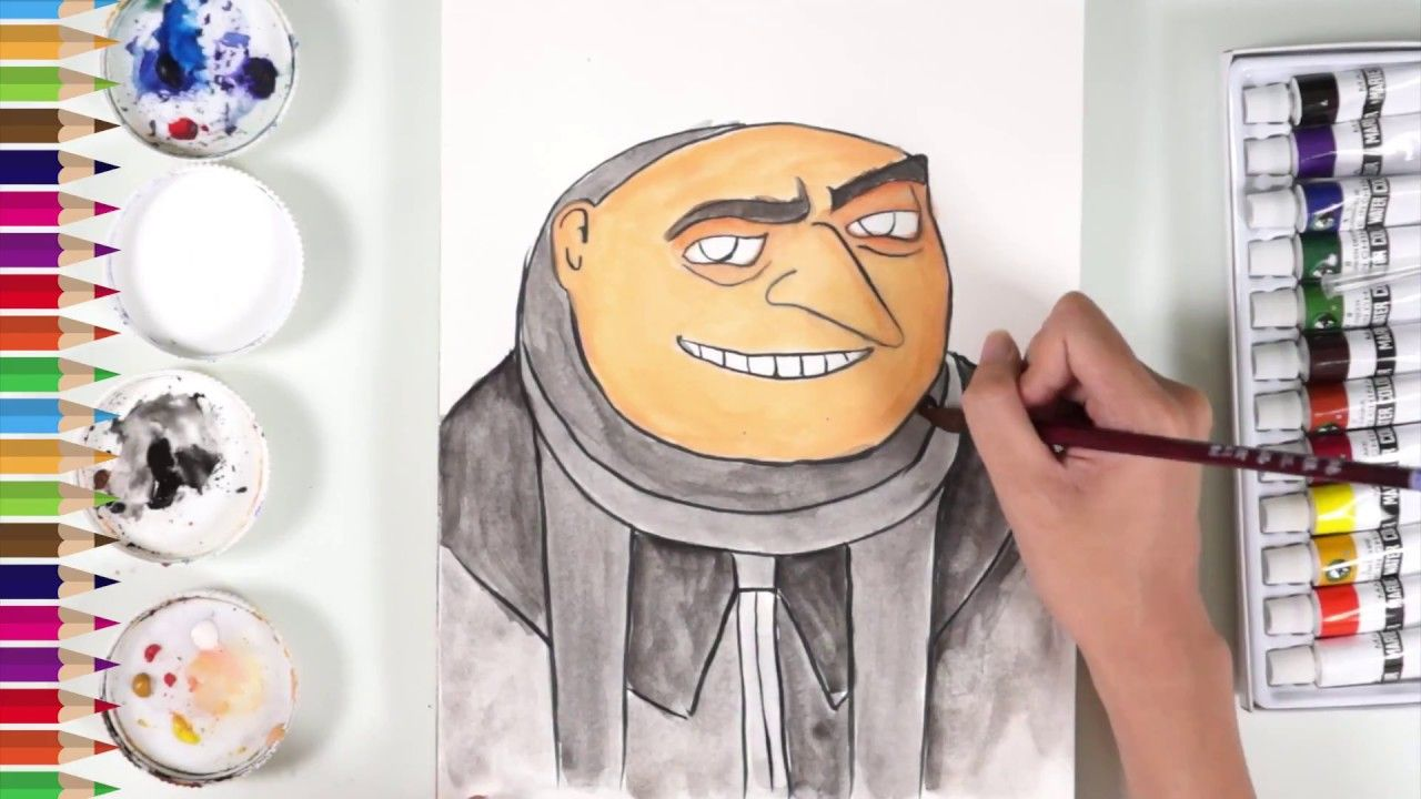 How to draw gru from despicable me 3 coloring pages how to draw how to draw gru from despicable me 3 coloring pages how to draw minion altavistaventures Images